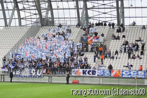 Parcage strasbourgeois au stade des Alpes à Grenoble